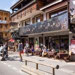 Terrasse restaurant La Chamade Morzine