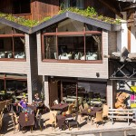 Toit végétal restaurant la Chamade Morzine