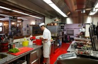 Cuisine restaurant La Chamade Morzine