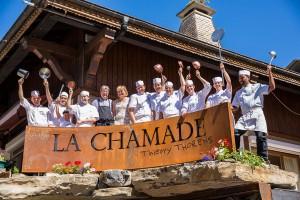 Équipe restaurant la Chamade Morzine