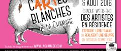 Cartes Blanches La Chamade événement Morzine