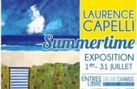 Laurence Capelli Exposition Peinture La Chamade Morzine
